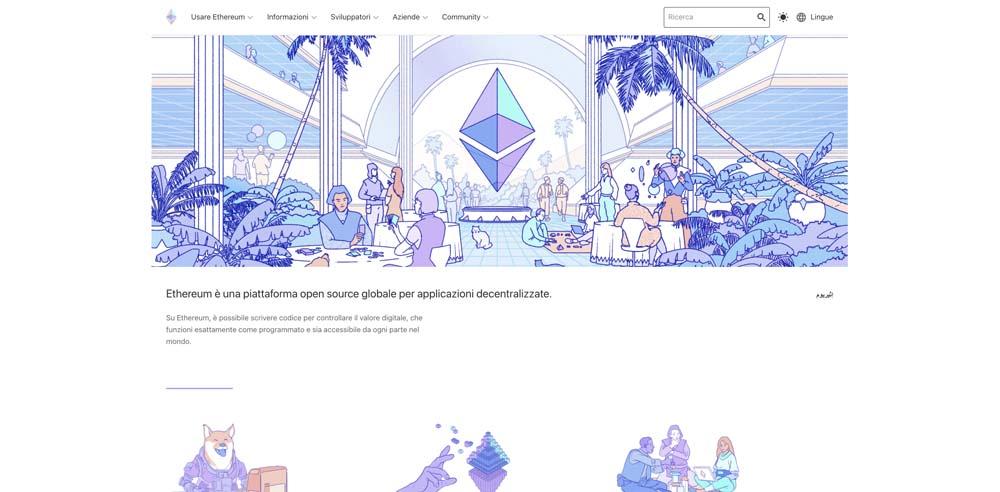 screenshot ethereum interface